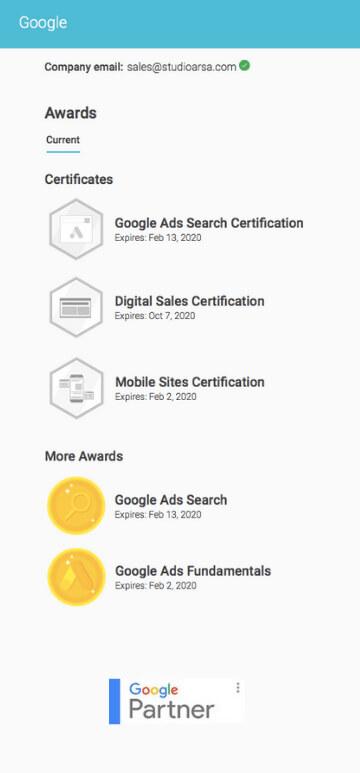 Certificados Arsa Mobile